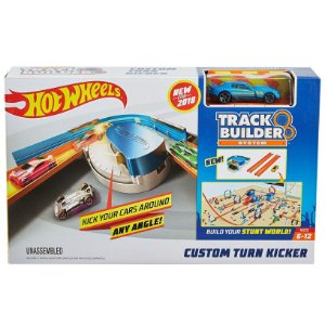 Hot Wheels Track Builder System Curvas Iradas Mattel Dnh84