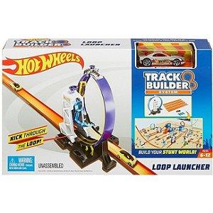 Hot Wheels Track Builder System Lançador Looping 360 Dnh84