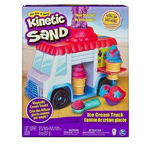 Brinquedo Massa Areia Caminhão De Sorvete Sunny 1806