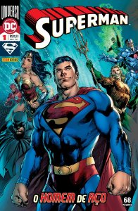 Hq DC Comics Superman Numero 24 / 1 com 68 Paginas Panini