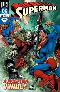 Hq DC Comics Superman Numero 26 / 3 com 60 Paginas Panini
