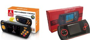Combo Consoles Portátil Atari Flashback + Master System