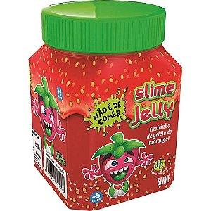 Slime Jelly Geleia de Morango com Cheirinho 300 g Dtc 5208