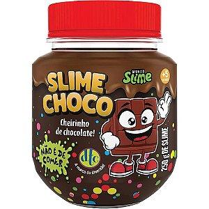 Slime Choco Chocolate de Avela com Cheirinho 250 g Dtc 5209