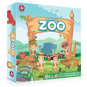 Brinquedo Jogo de Tabuleiro O Jogo do Zoo Zoologico Estrela