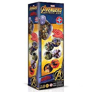 Jogo Tapa Certo Marvel Os Vingadores Guerra Infinita Estrela