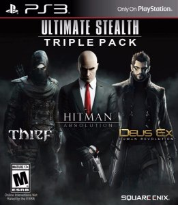 Jogo Novo Jogo Para Ps3 Ultimate Stealth Triple Pack Pra Ps3