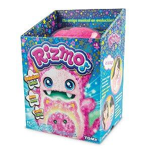 Brinquedo Pelucia Eletronica Amigo Rizmo Berry Tomy Estrela