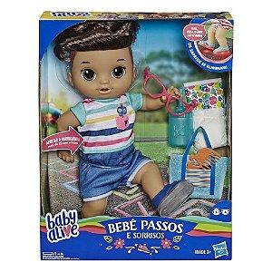 Brinquedo Baby Alive Primeiros Passos Menino Hasbro E5245