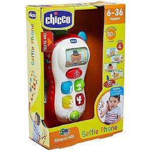 Brinquedo Infantil Selfie Phone Musica e Frases Chicco 52513