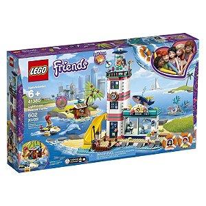 Lego Friends Centro de Resgate do Farol com 602 Peças 41380