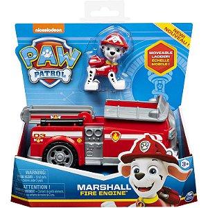 Patrulha Canina Marshall e Veiculo Basico Fire Engine 1389