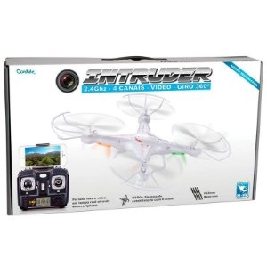 INTRUDER DRONE COM CAMERA REAL TIME