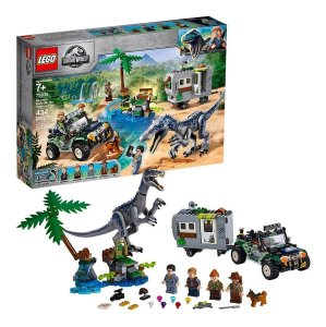 Lego 75935 Jurassic World Confronto Baryonyx A Caca Tesouro