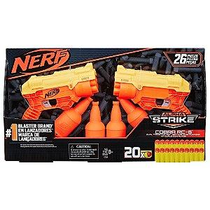 Lançador Nerf Alpha Strike Cobra RC-6 Dual Targeting E7566