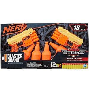 Lançador Nerf Alpha Strike Fang QS-4 Dual Targeting E7564