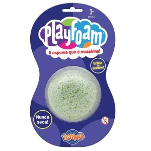 Massinha Espuma Play Foam Cor Sortida Pack 1 Unidade 40072