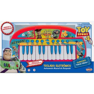 Brinquedo Infantil Teclado Disney Toy Story 4 Toyng 34550