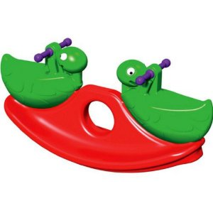 Brinquedo Gangorra Dupla Guga Tartaruga Verde Xalingo 09510
