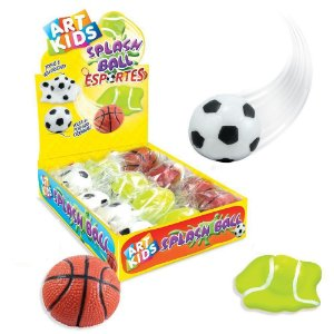 Splash Ball Bolas de Esportes Grudenta Sortida Acrilex 40058