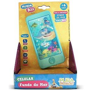 Brinquedo Mundo Bita Celular Fundo do Mar +6m Yes Toys 20121