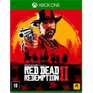 Jogo Novo Midia Fisica Red Dead Redemption 2 para Xbox One
