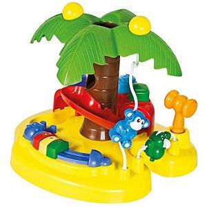 Brinquedo Infantil Ilha da Palmeira para Bebe Calesita 833