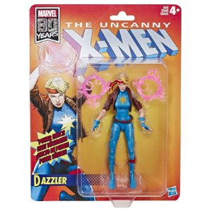 Figura Marvel Legends 80th X-Men Comics Dazzler Hasbro E5296