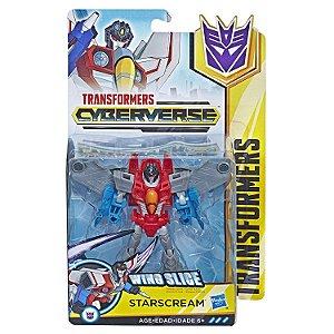 Transformers Cyberverse Figura Decepticon Starscream E1884