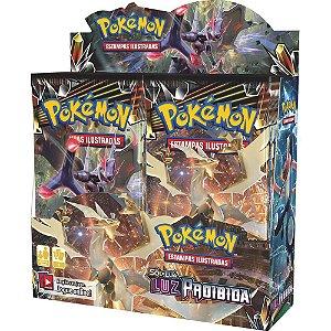 Box Booster Pokémon Sol E Lua 6 Luz Proibida Original