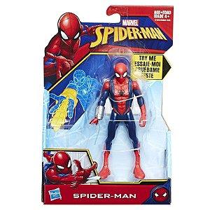 Figura Marvel Homem Aranha Teia Quick Shot Spider Man E0808