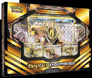 Box Pokemon Box Evolução Turbo Com 3 Turbos Inéditos