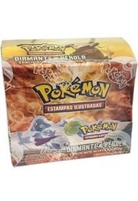 Box Booster Pokemon Diamante & Pérola Tesouros Misteriosos