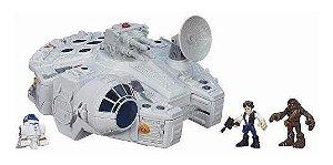 Brinquedo Galactic Heroes Star Wars Millenium Falcon B3816