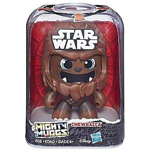 Figura Star Wars Mighty Muggs Disney Chewbacca Hasbro E2109