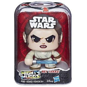 Figura Star Wars Mighty Muggs Disney Rey Jakku Hasbro E2109