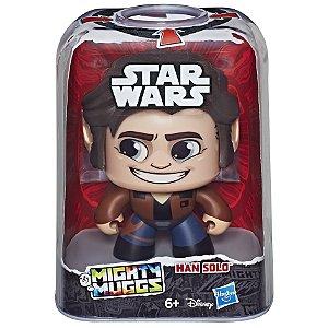 Figura Star Wars Mighty Muggs Disney Han Solo Hasbro E2109