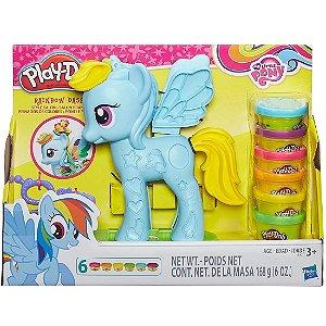 Brinquedo Massinha Play Doh Ponei e Penteados Hasbro B0011