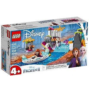 Lego Disney Frozen 2 Expedicao Canoa da Anna 108 Peças 41165