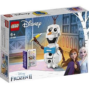 Lego Disney Frozen 2 Boneco de Neve Olaf com 122 Peças 41169