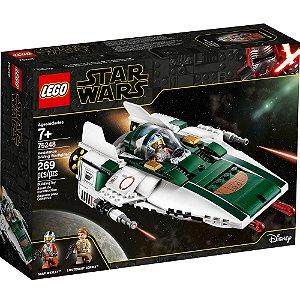 Lego Star Wars Nave A-Wing Starfighter da Resistencia 75248