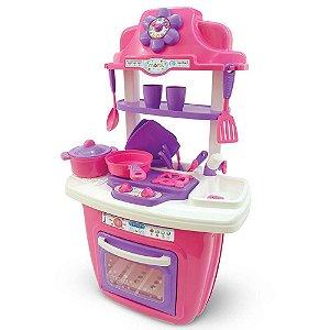 Brinquedo Infantil Cozinha Portatil e Acessorios Maral 1009