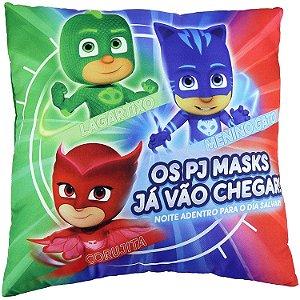 Almofada Divertida Super Macia Pj Masks Colorida Dtc 4592