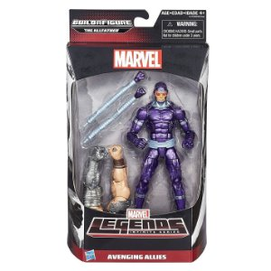 Boneco Marvel Legends Build a Figure Machine Man HQ B0438