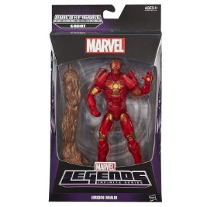 Boneco Marvel Legends Build a Figure Iron Man Hasbro A7909