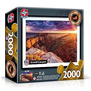 Quebra Cabeça Grand Canyon com 2000 peças 71x97 cm Estrela
