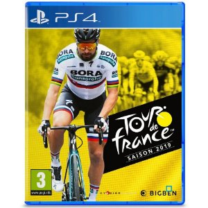 Jogo Novo Midia Fisica Tour de France Season 2019 para Ps4
