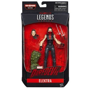 Boneco Marvel Legends Build a Figure Elektra Hasbro C1517