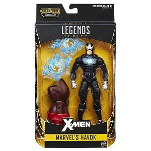 Boneco Marvel Legends Build a Figure Havok HQ Hasbro B8343