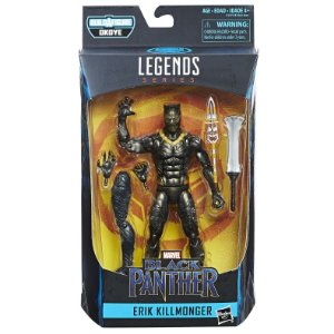 Boneco Marvel Legends Build a Figure Erik Killmonger E1562